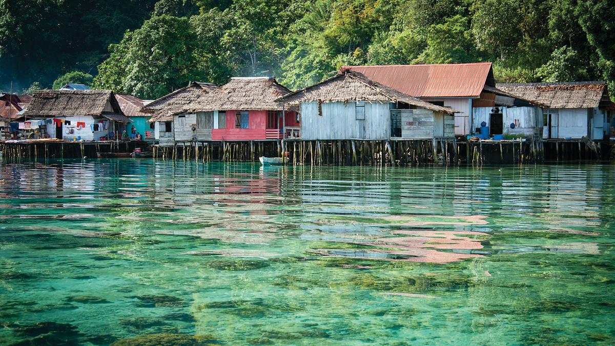 Sawai, Seram Island.