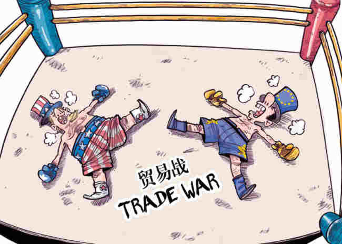 The China Daily's take on the current trade war.