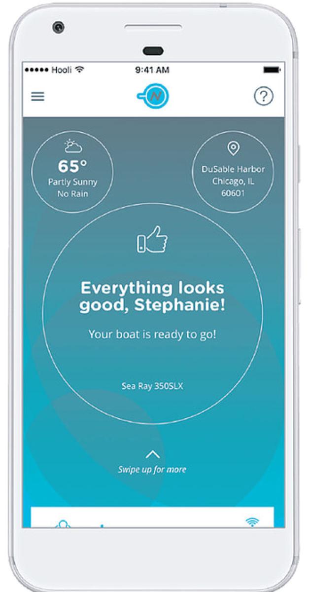 Nautic-On mobile app.