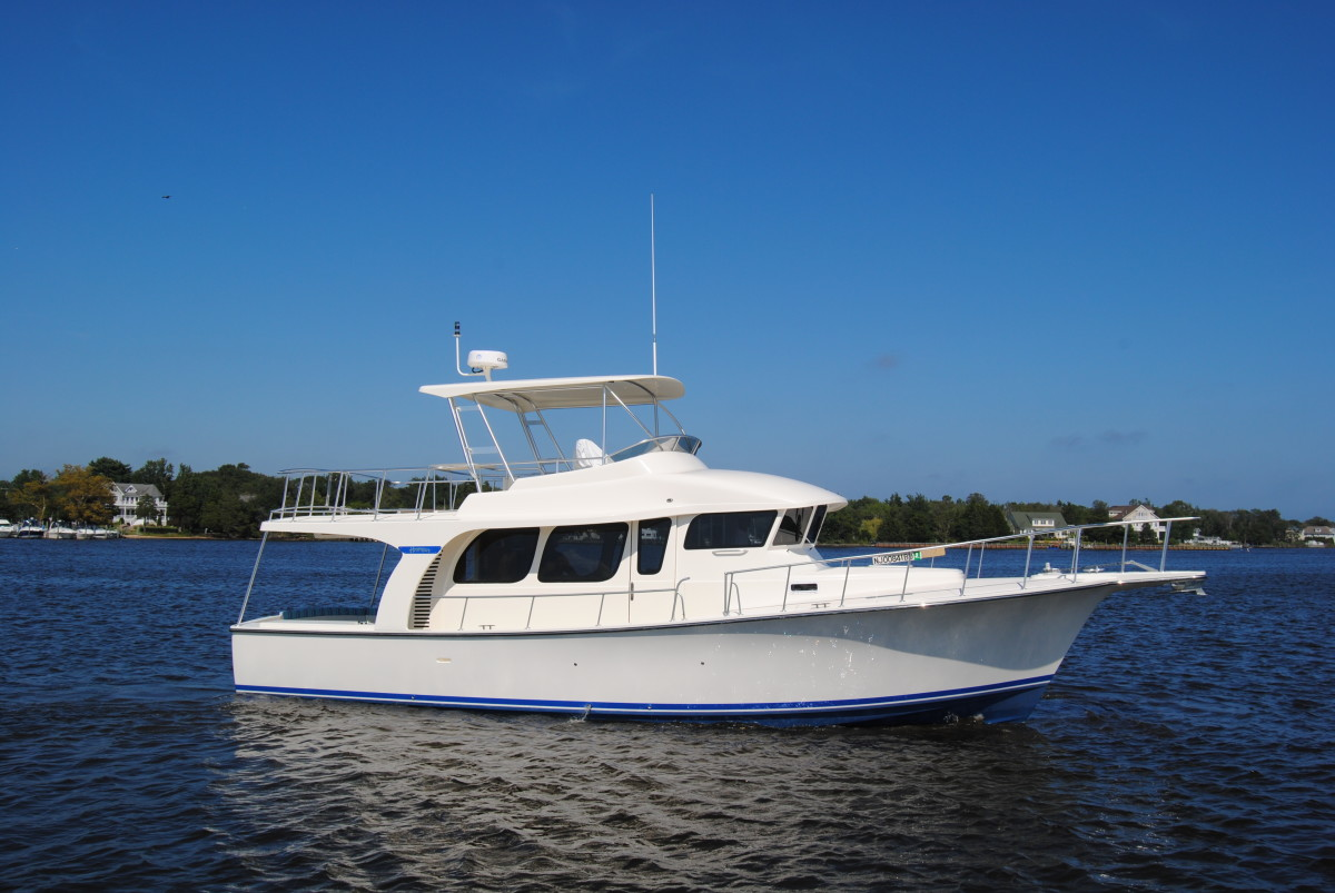 Henriques 52' will make it TrawlerFest debut in Baltimore.