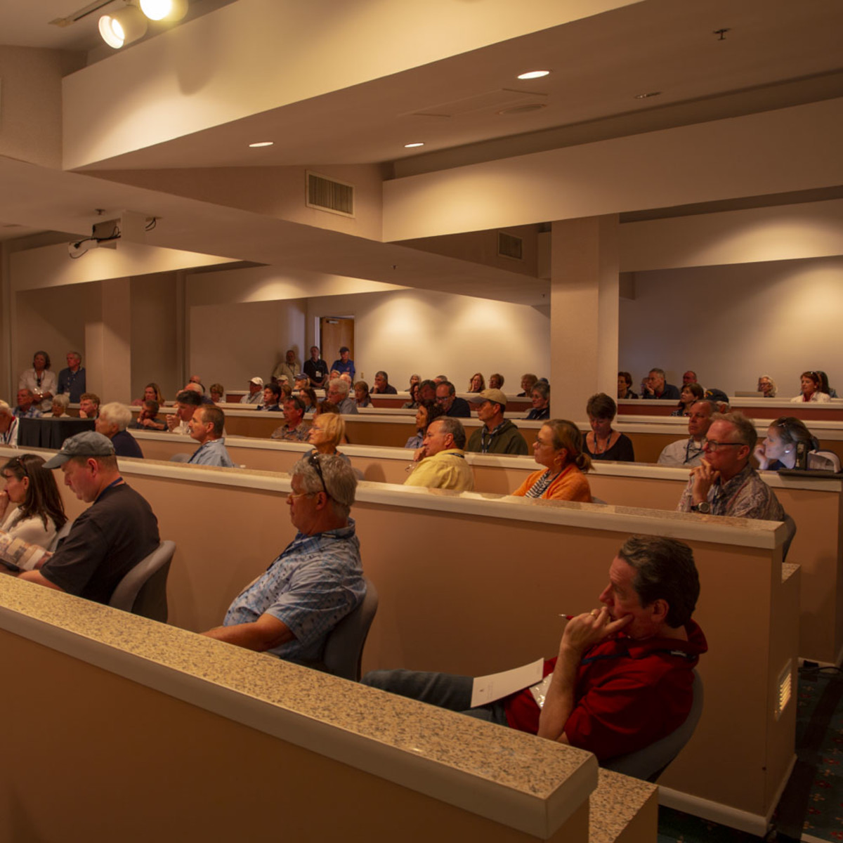 Attendees at the Boat Buyers Seminar in Stuart Florida during TrawlerFest earlier this year.