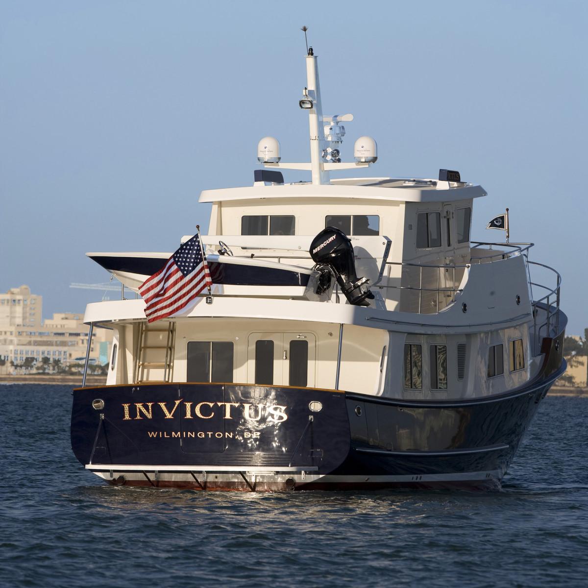Sue and Don's Kadey Krogen 55 Expedition trawler, Invictus.