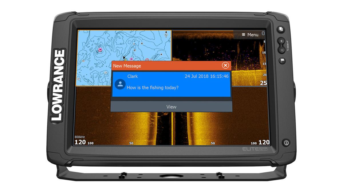 Lowrance Elite TI2 Series Multi Function Displays