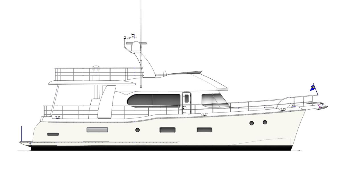 Nordhavn 59 Coastal Pilot Motoryacht Edition
