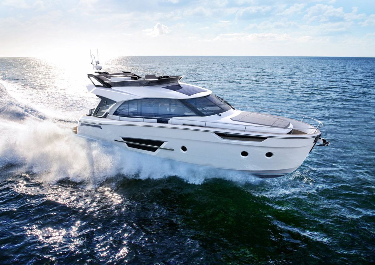 A rendering of the new Greenline 45 Fly Hybrid