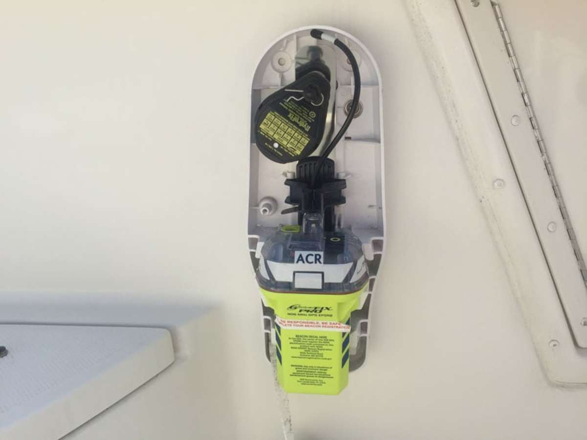 An EPIRB alone will not save your life, but when going offshore you should always bring one that's been registered, know how to use it and correctly mount it on your vessel.
