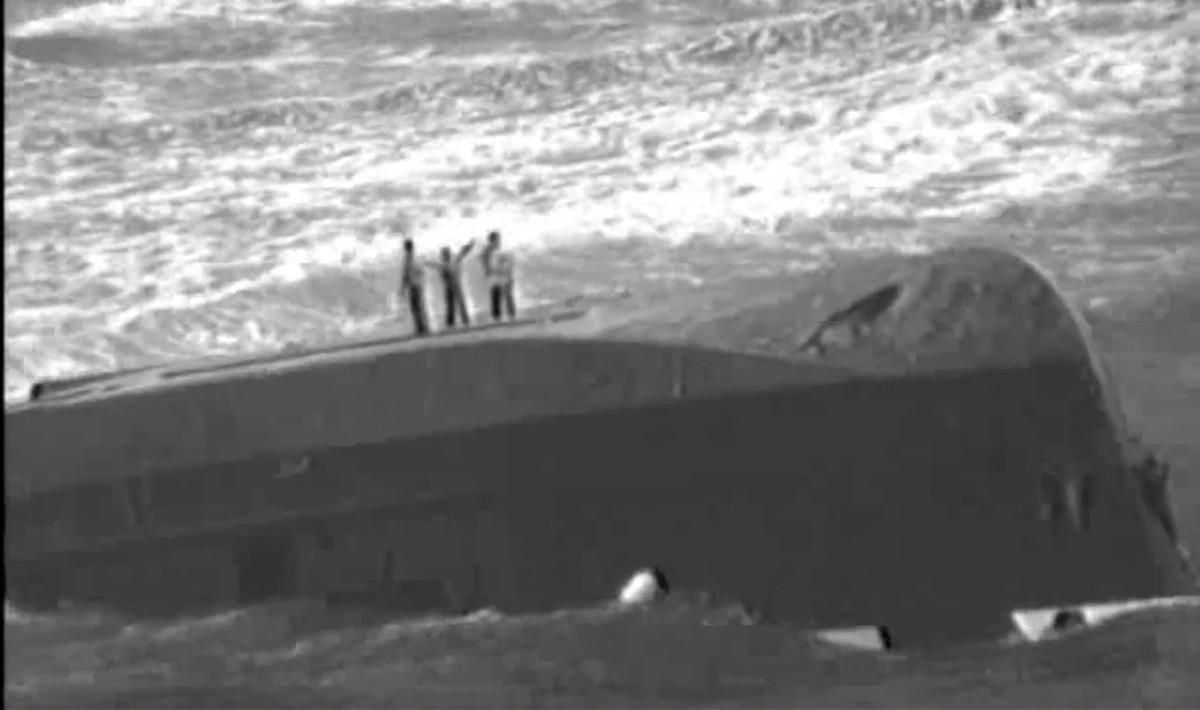dramatic rescue in hurricane maria aftermath  video