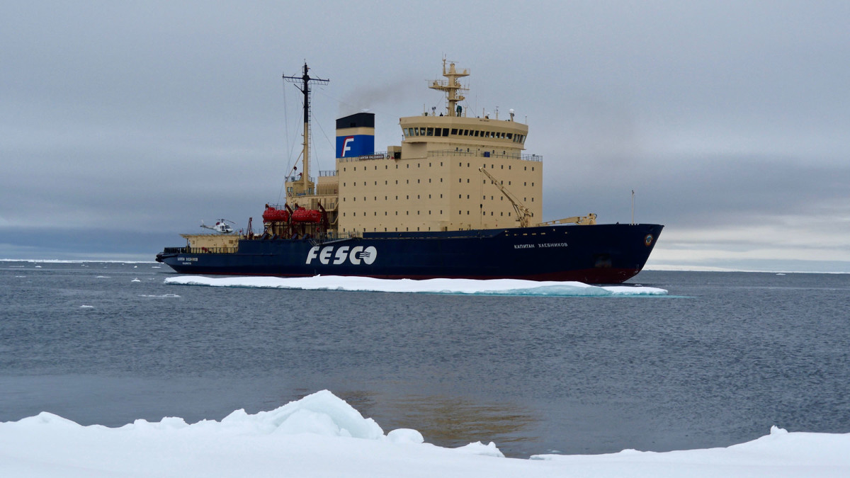 Built in 1982, the diesel-electric icebreaker has transported crew and adventurous passengers hundreds of thousands of miles through the icy waters of the Arctic and Antarctica.