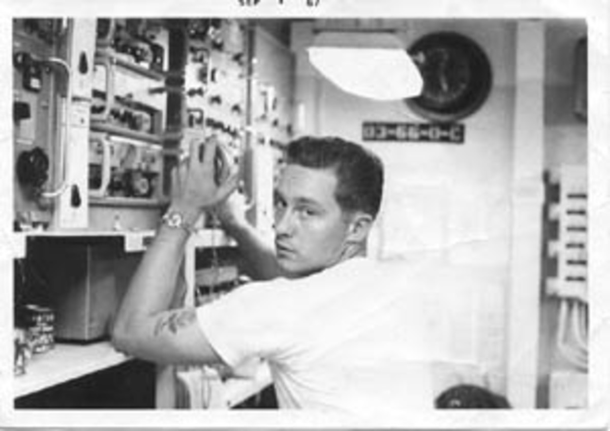 Navy radioman.