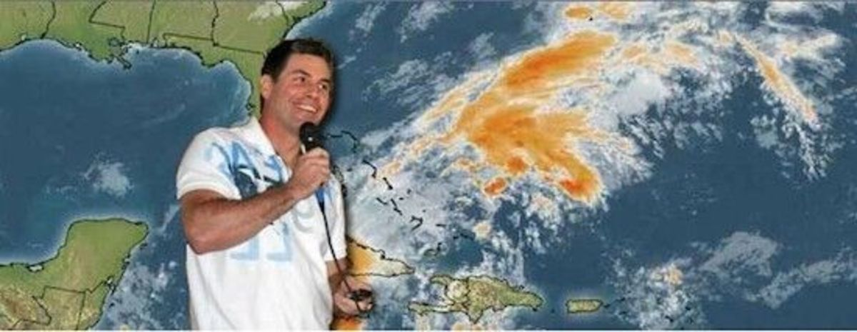 Parker's specializes in East Coast and Caribbean forecasting.