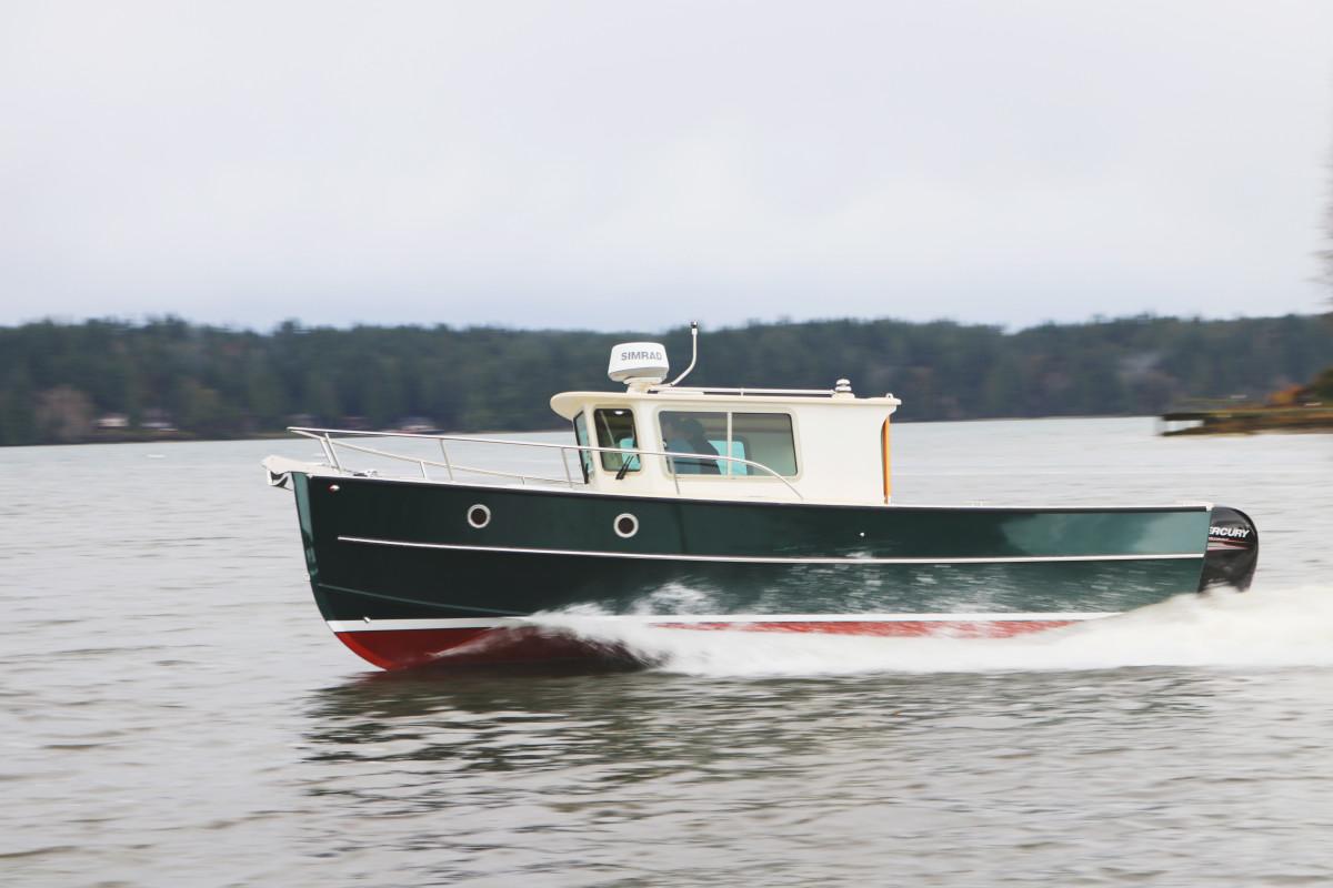Devlin Designing Boat Builders' 23 Surf Scoter