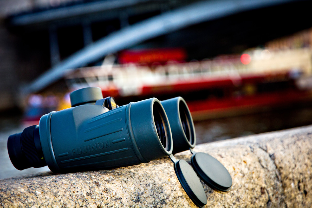 FUJINON 7x50 MTRC-SX binoculars. The perfect magnification of nautical binoculars.