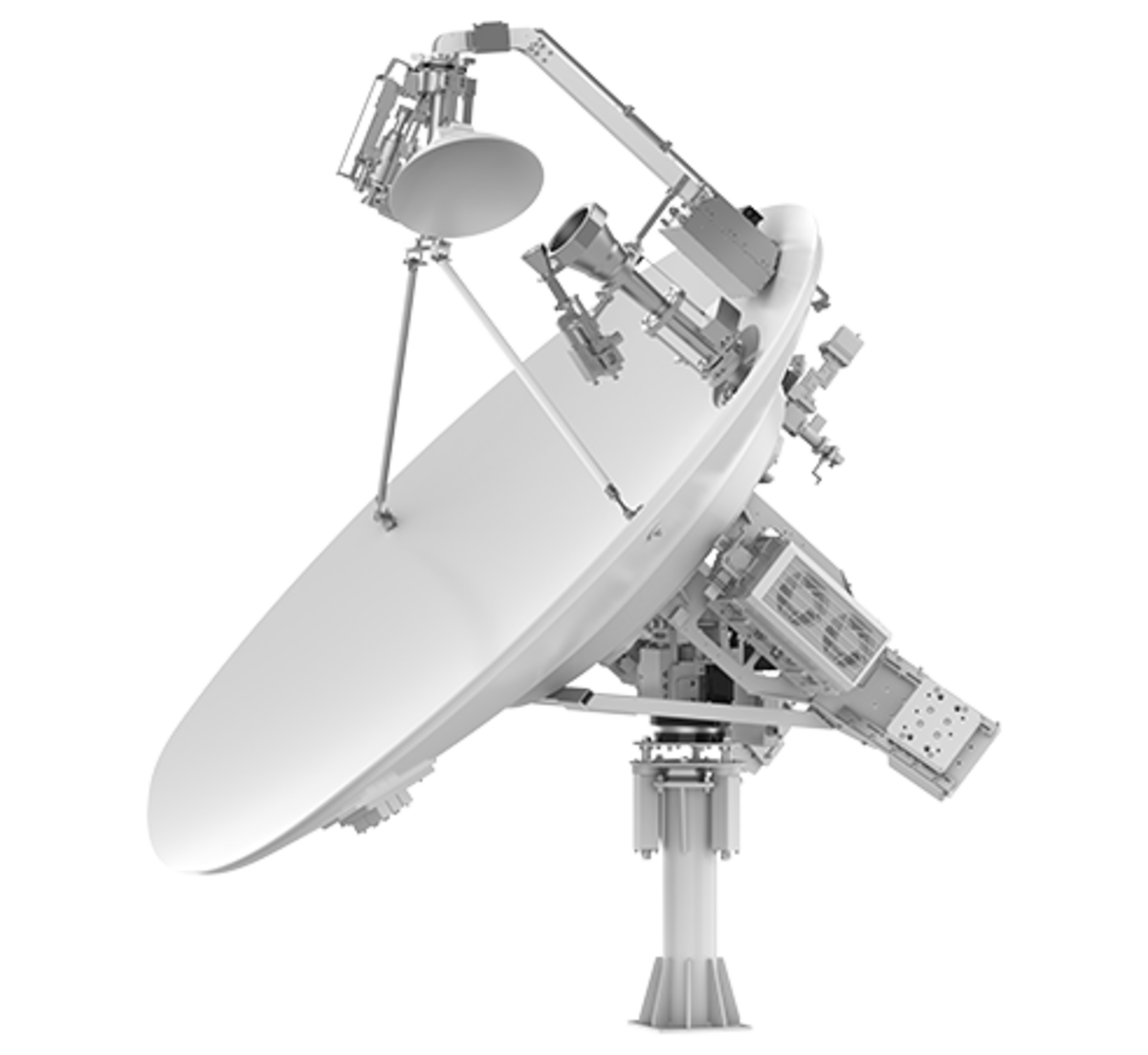 The Intellian v240MT Satellite Antenna
