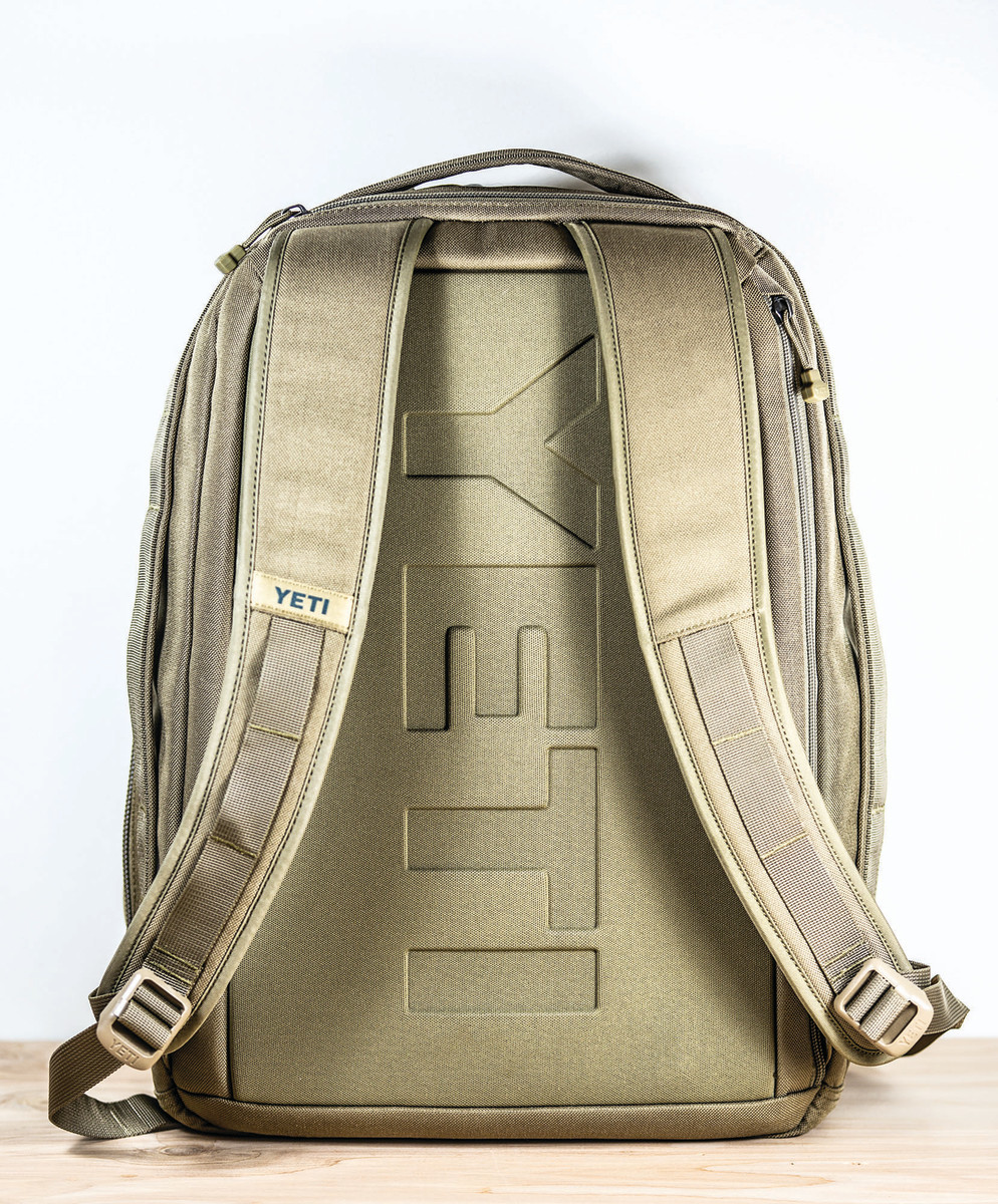 The Yeti Tocayo 26 Backpack in Tan (also available in Black).