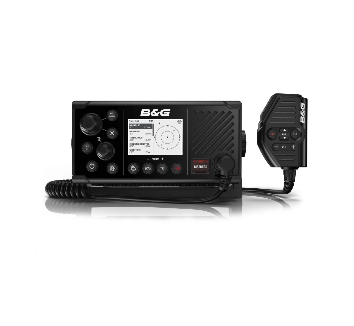 The B&G V60-B VHF Radio