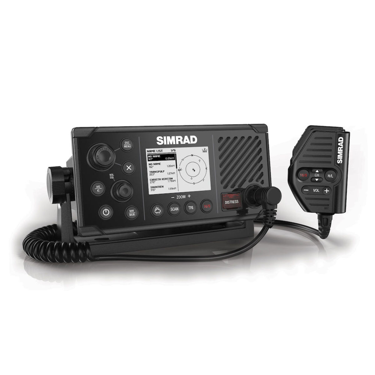 The Simrad RS40-B VHF Radio