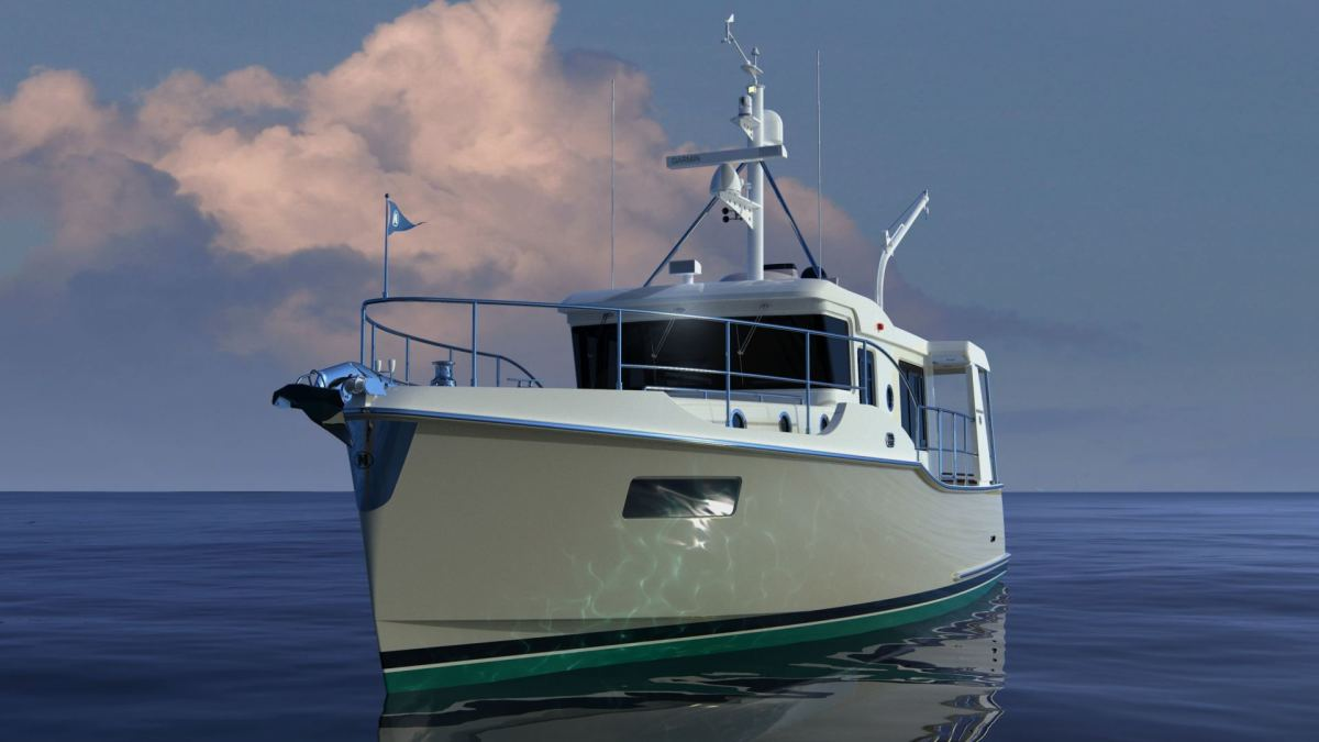 The new Nordhavn 41