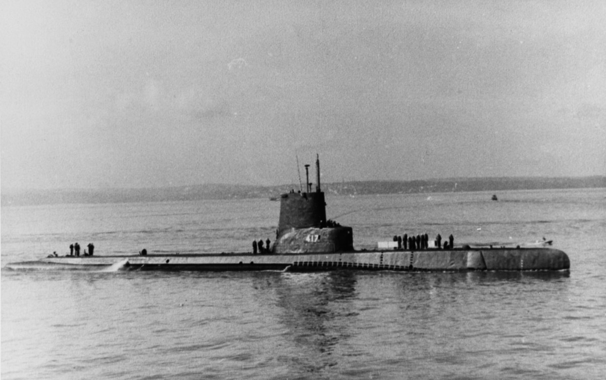 The USS Tench.