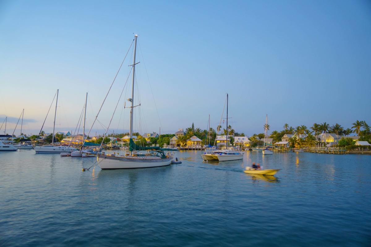 Picturesque Hope Town Harbour is a must for any cruising itinerary in the Abacos.