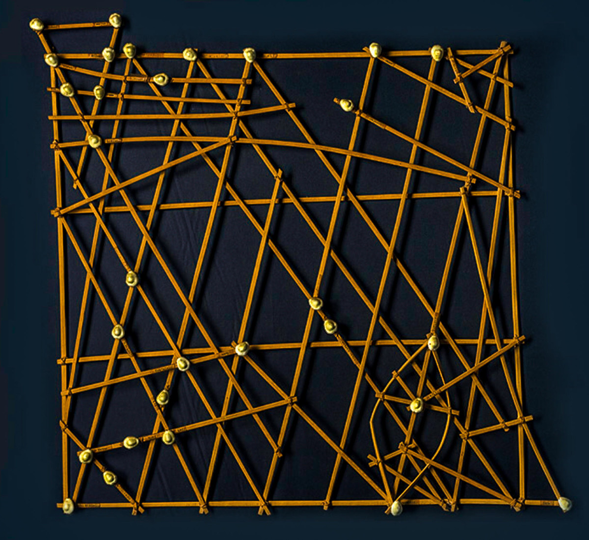 All it took was a series of sticks lashed together with twine to teach the sailors of the Marshall Islands how to navigate to unseen lands.