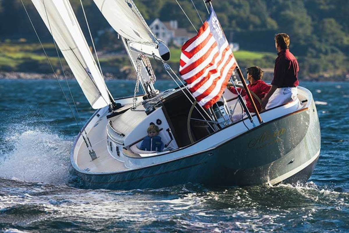 he Bruckmann 42, one of Zurn's favorite sailboat designs. (Brian Nevins; Doug Zurn)