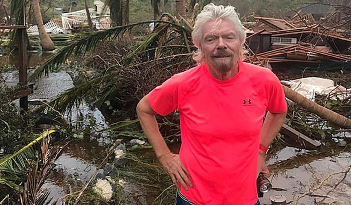 Necker Island was a mess after Irma struck.