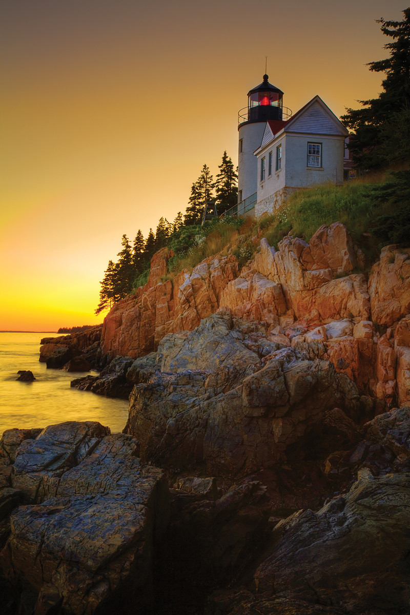 Bass Harbor Head Light.