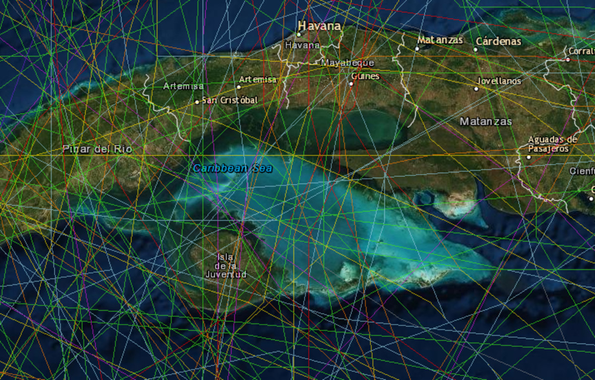 On the other hand, Isla de la Juventud (Isle of Youth) off the South Coast of Cuba is practically a hurricane magnet. Stay away from there.