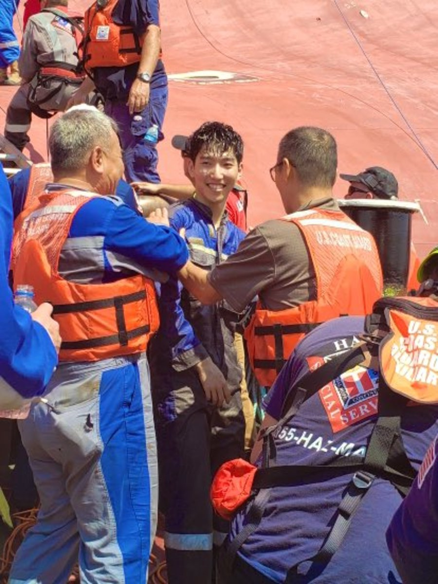 crewman rescued 3