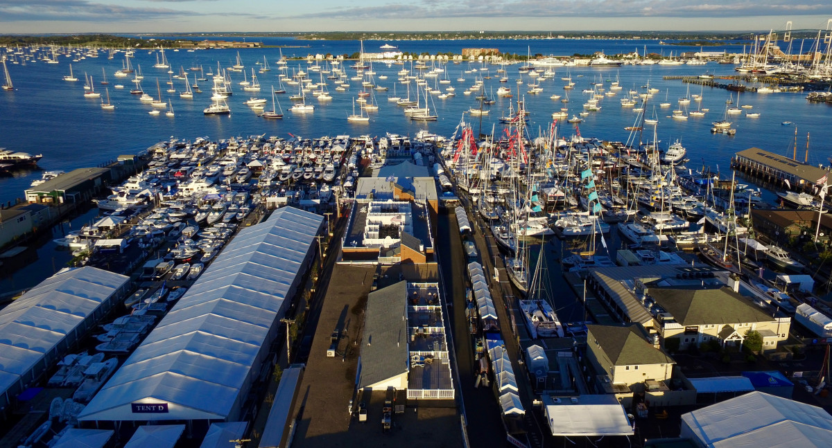 The Newport International Boat Show