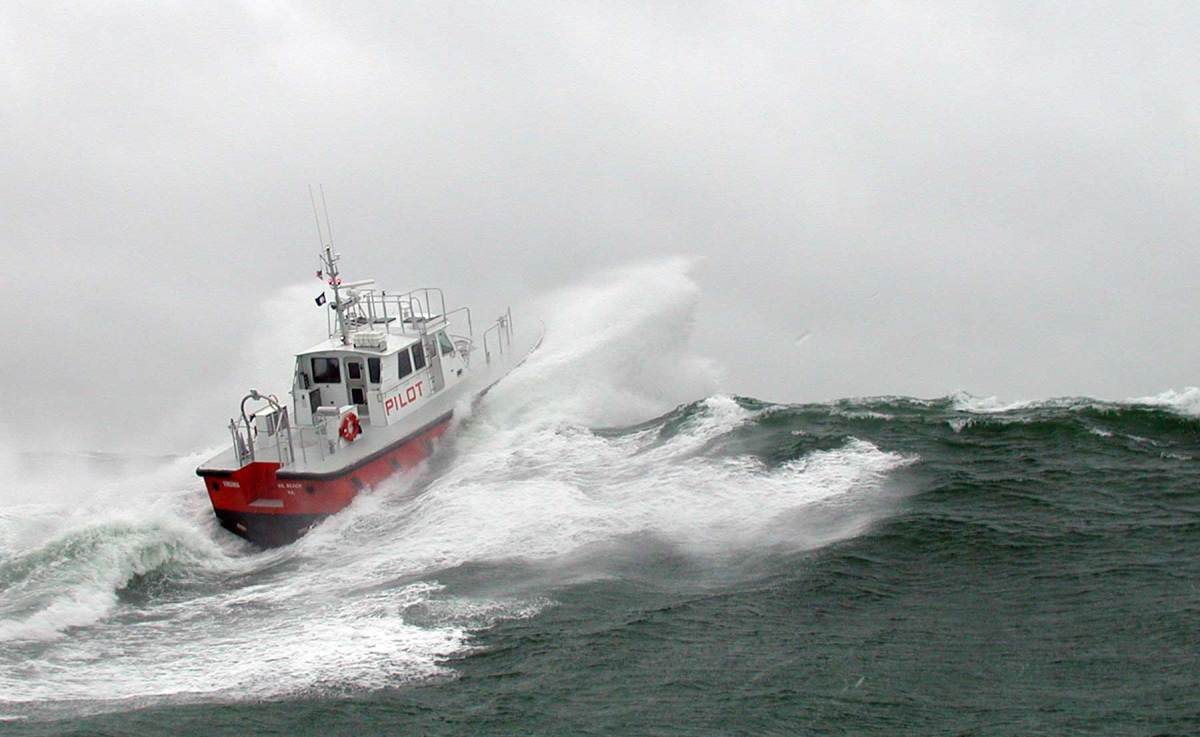 Pilot boats built by Gladding-Hearn are all-weather vessels