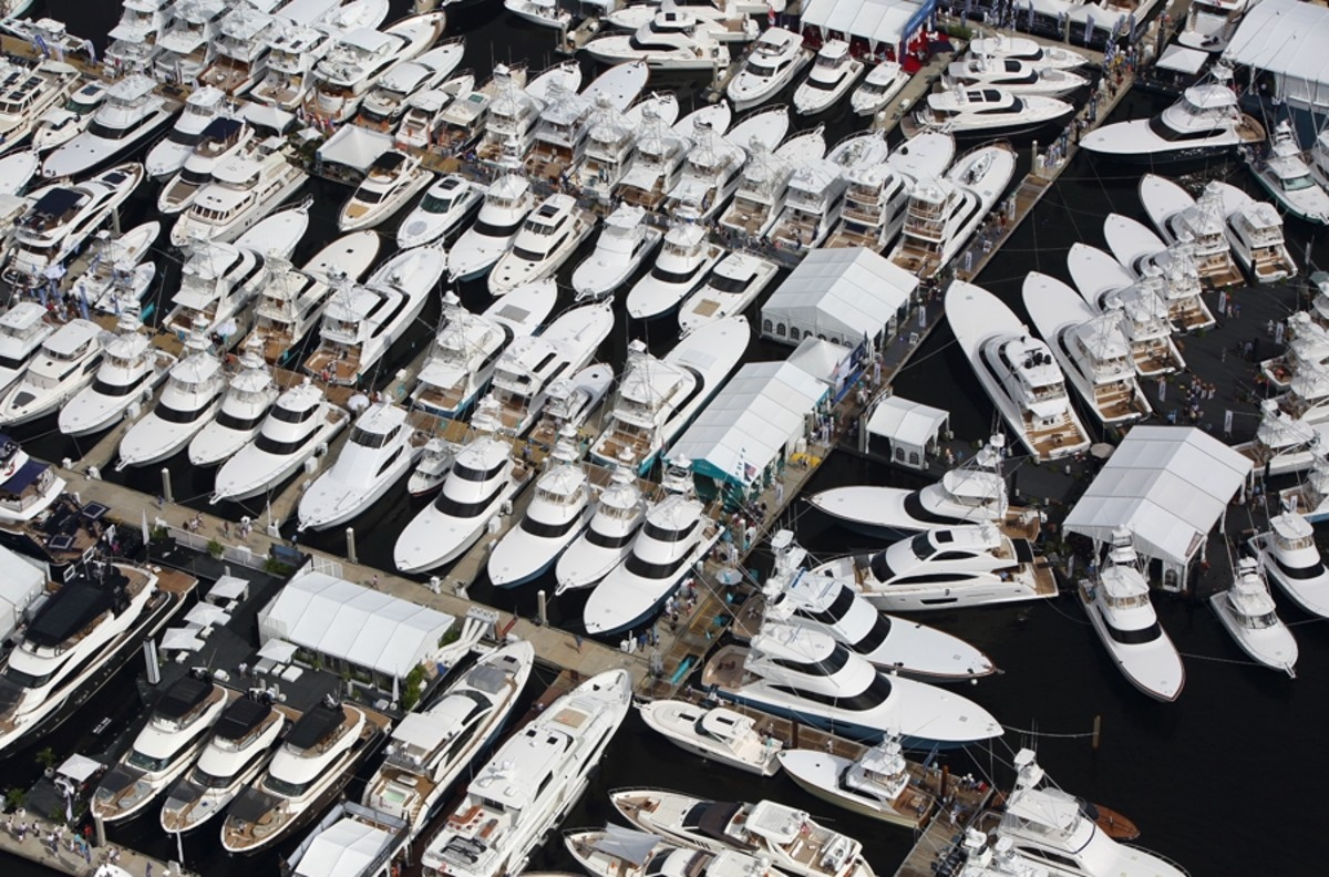 The Fort Lauderdale International Boat Show is one of the world's biggest.