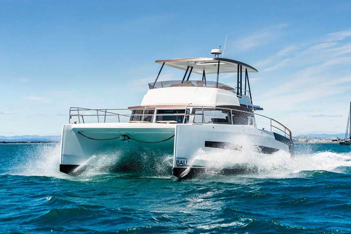 The Bali 4.3 MY will debut at the 2019 Fort Lauderdale International Boat Show as the builder's first-ever powercat.