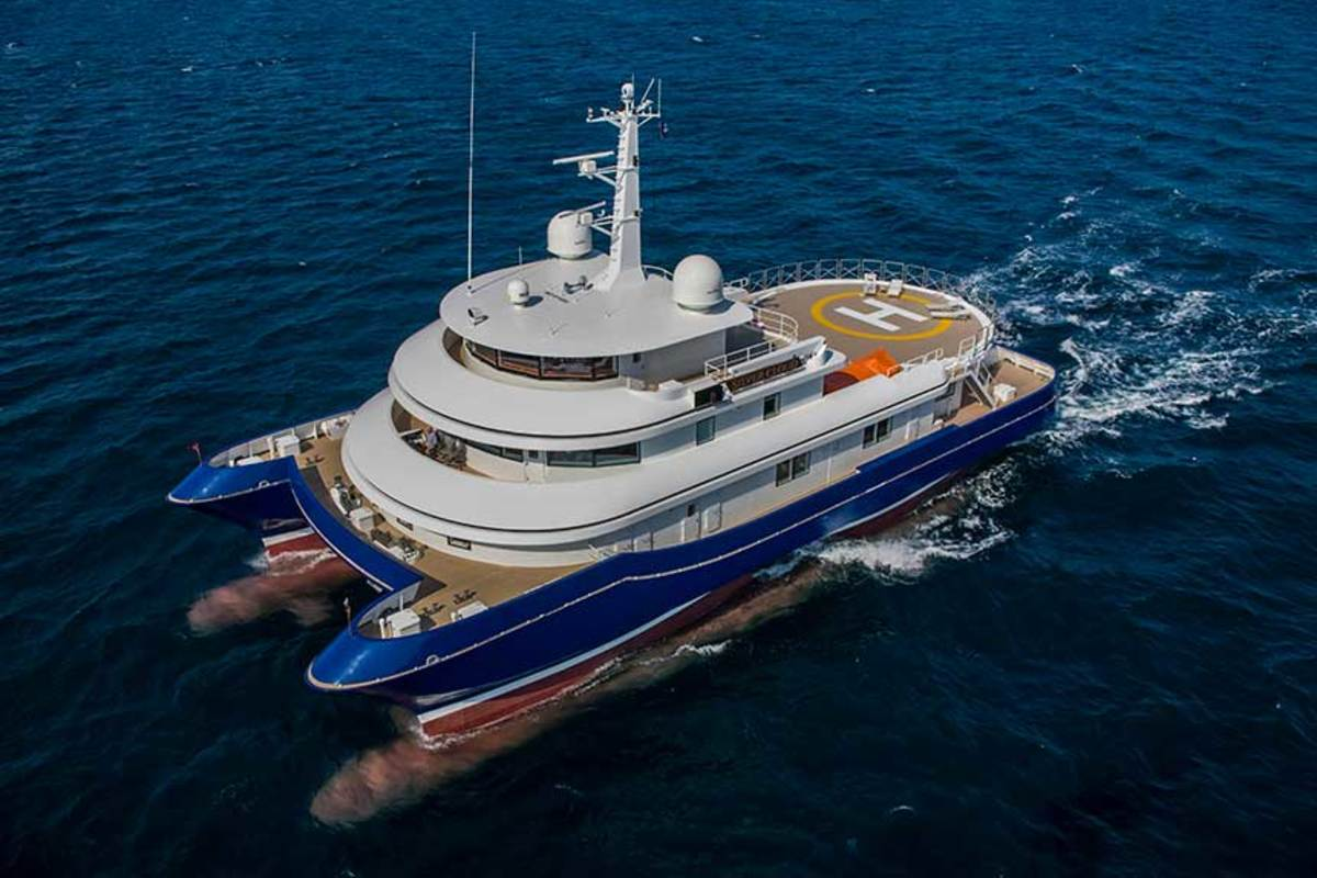 In an endurance test around the world, the 134-foot Abeking & Rasmussen Silver Cloud comfortably navigated rough seas around northern Alaska, Papua New Guinea and the Galapagos Islands.