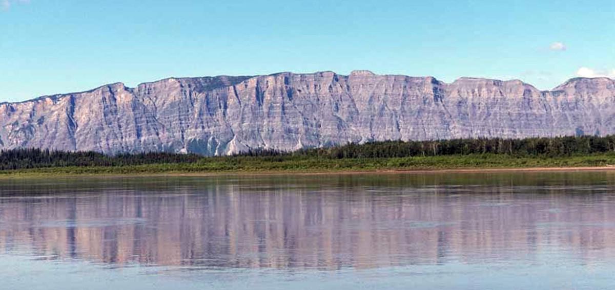 Majestic sights are aplenty along the Mackenzie River.