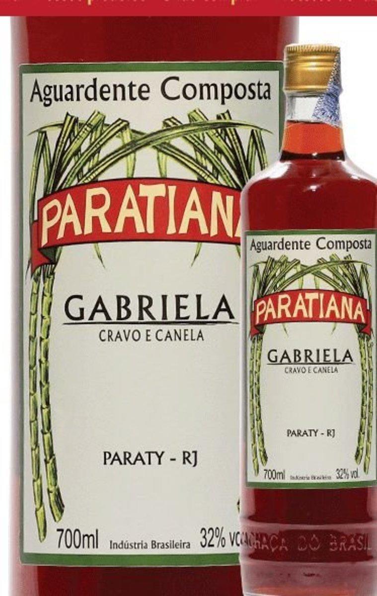 Cachaça Gabriela Paratiana