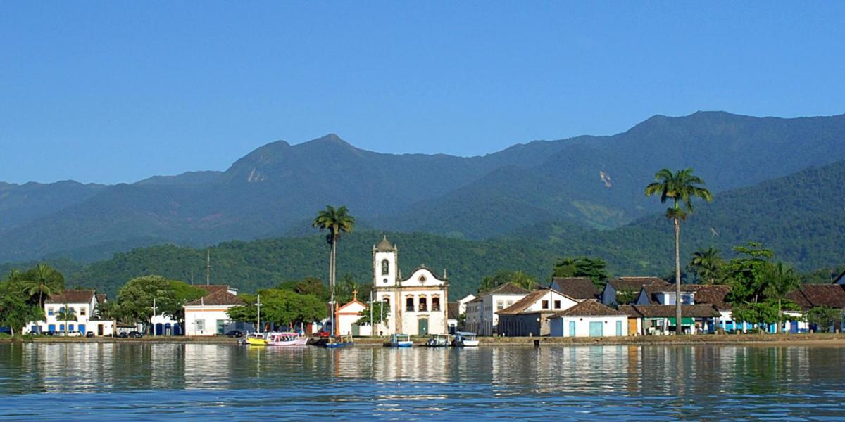 Paraty was founded during the Brazilian gold rush.