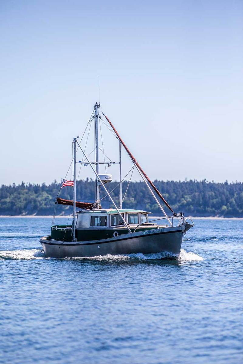 Though their new pocket-size cruiser is perfect for taking the couple on quick '10-day shots' from their coastal home base, this TimberCoast 22 is also quite capable of the long-range passagemaking Saunders and Deuel did for years.