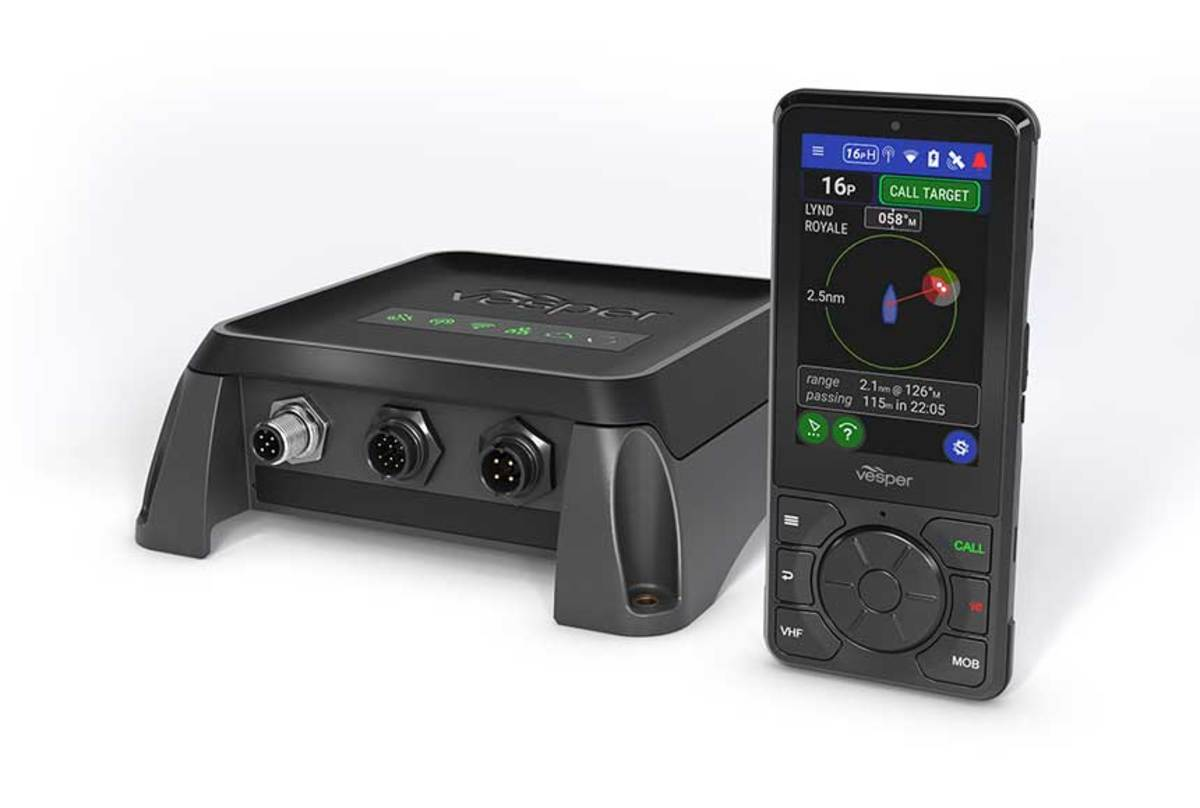 Vesper is using an eight-channel radio in Cortex, affording a lot of flexibility and capabilities.