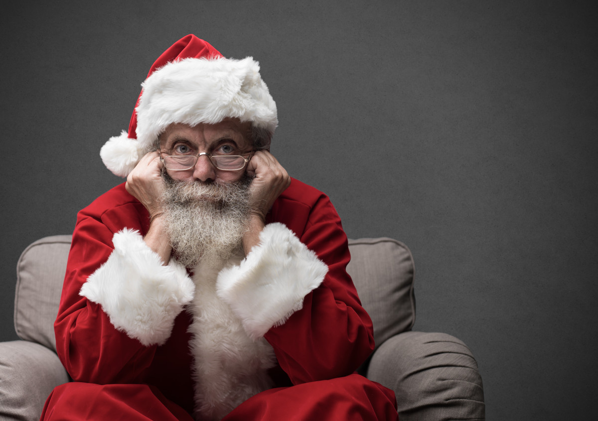 And Santa's not happy about it. Someone tell him the Magnetic Pole is not the same as the Geographic North Pole, where his HQ is located.