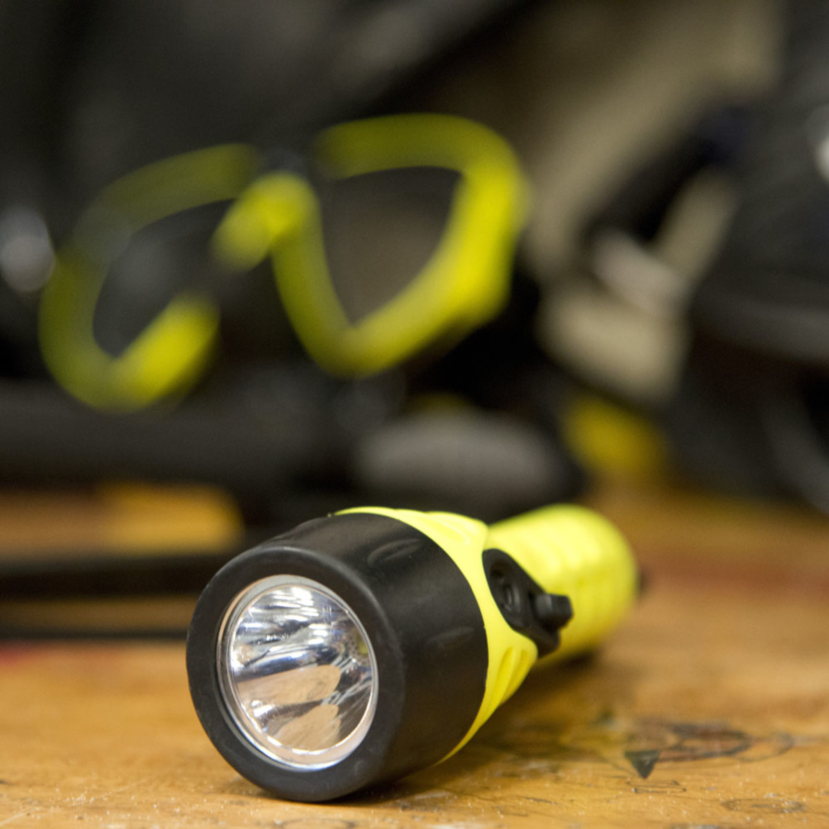 A flashlight is a must have active signal to have aboard your boat or on your person while boating.