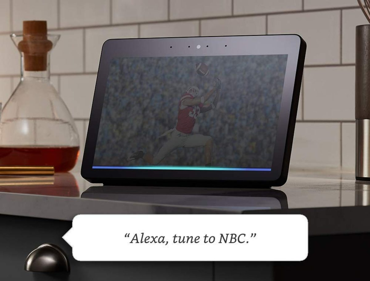 With an Echo Show you can use your voice to view and control a Recast.