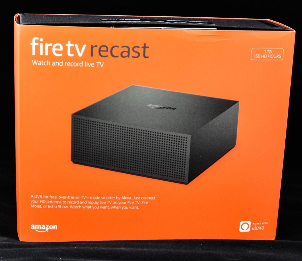 The Amazon Fire TV Recast.