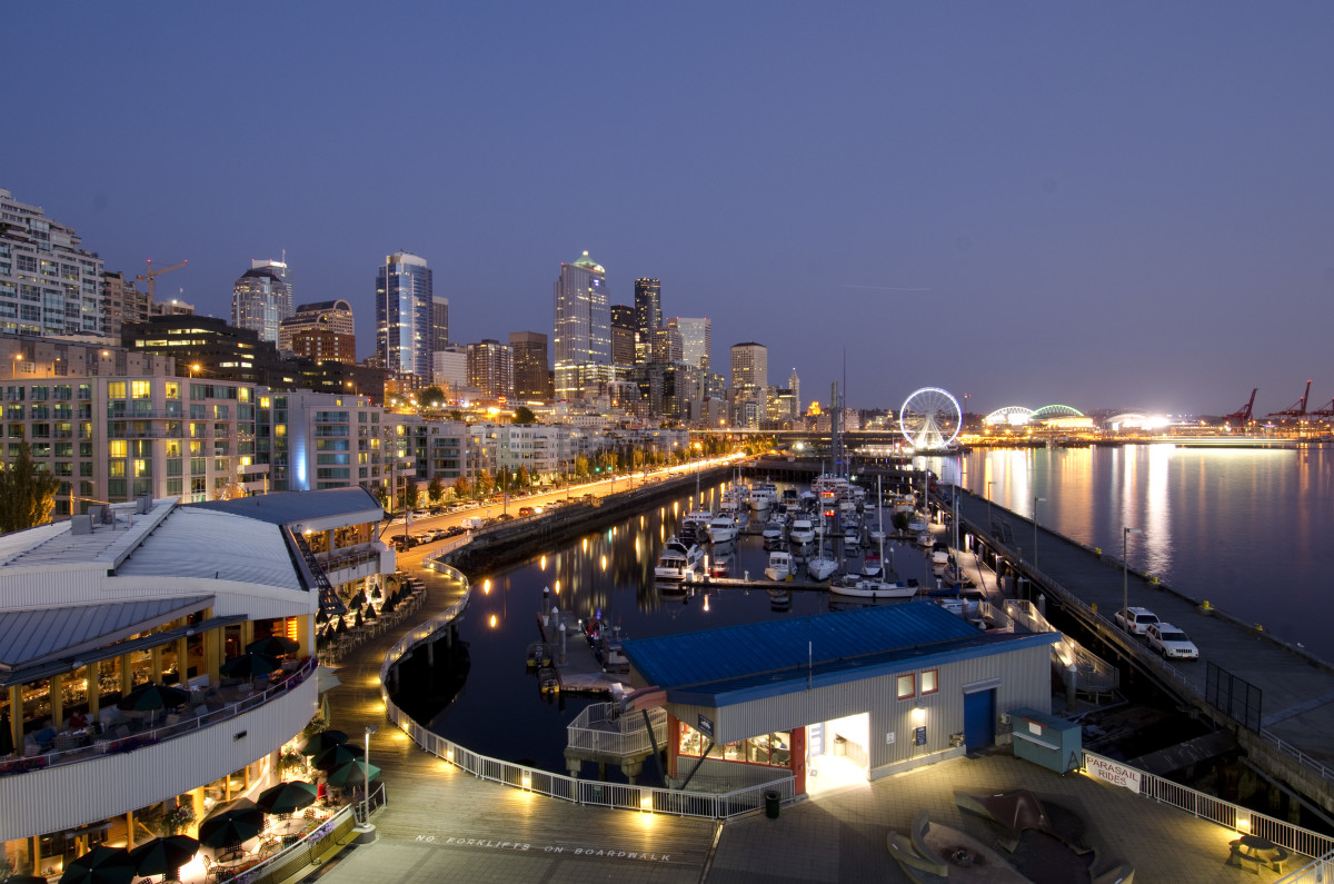 Bell Harbor Marina, Seattle's new home for TrawlerFest.
