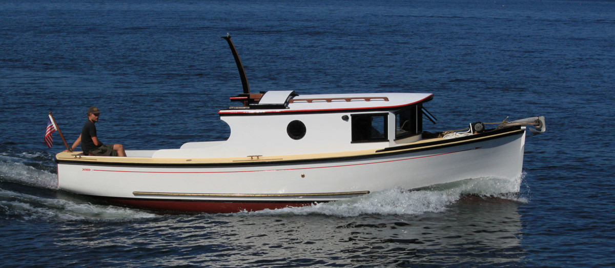 The first H.C. Hanson Forest Service Boat built between 2010-2012 by the NWSWB.