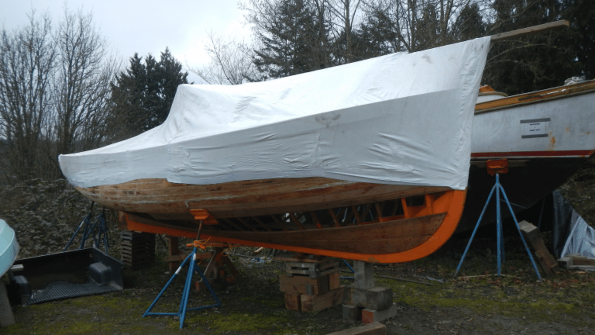 The 28' H.C. Hanson Forest Service Boat project available from the Northwest School of Wooden Boatbuilding now on sale for $14,625,