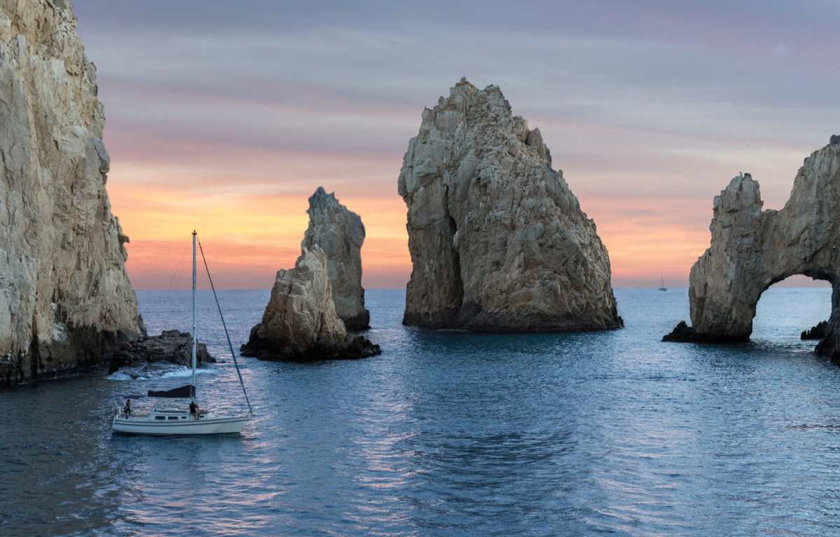 When you see these rock formations you know you've reached Cabo San Lucas.