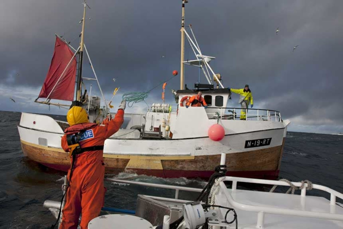 Commercial fishermen rely on the RS for assistance.