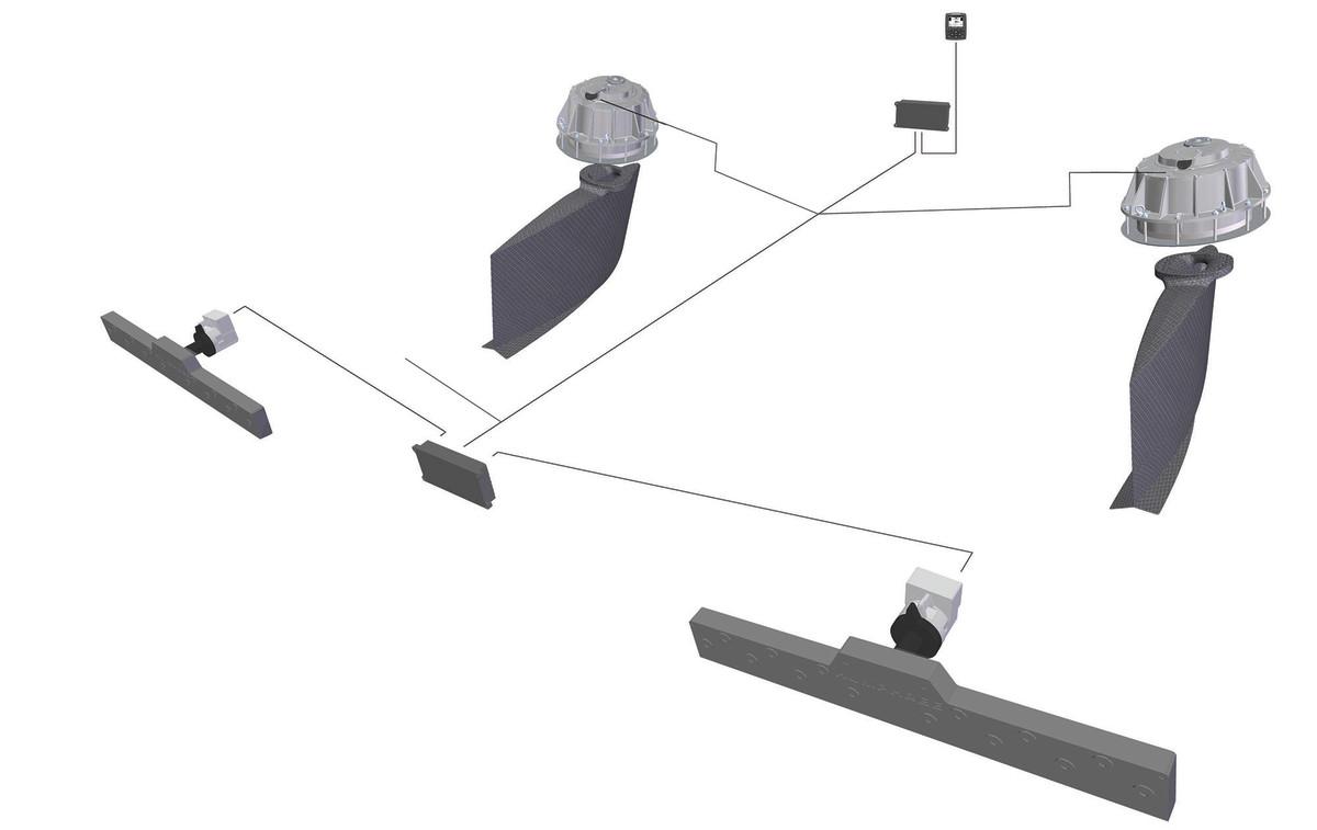 TheHumphree Interceptor and Fin Stabilization system.