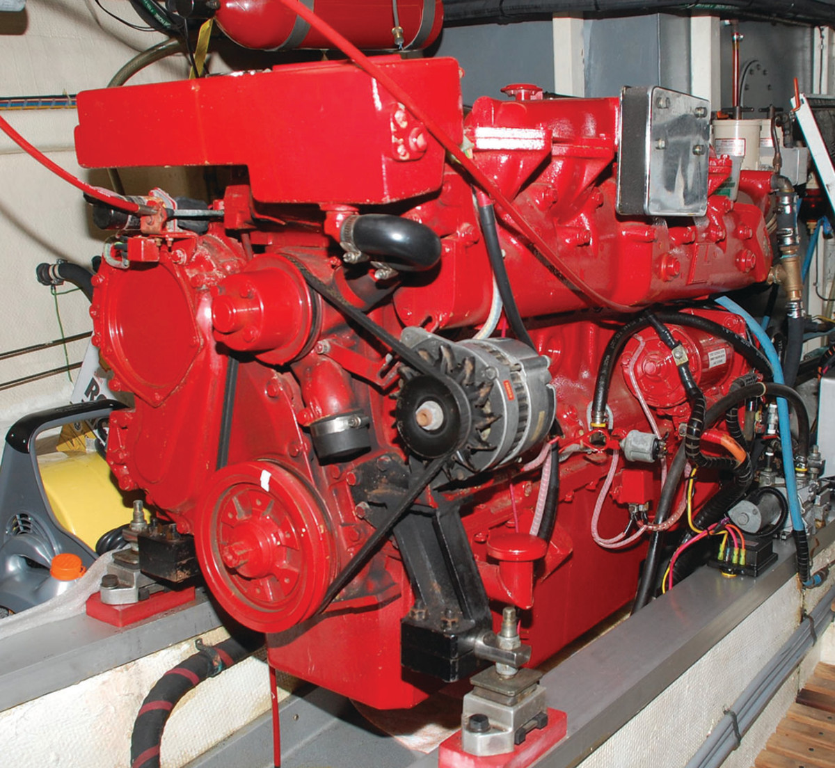 Well maintained, properly sized for the application, and operated within the optimal minimum and maximum loads, this engine has a good shot at running for 10,000 hours—and possibly much more.